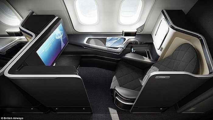 Các ghế hạng sang này có giá 2.500 bảng Anh (khoảng 85 triệu đồng). Hãng chỉ thiết kế 8 ghế hạng sang này trên mỗi chuyến bay