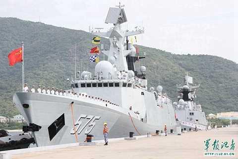 Tàu hải quân Trung Quốc