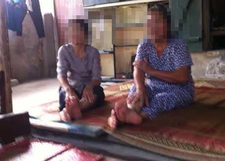 Hai bệnh nhân đến trọ nhà mẹ chồng Cô Phú Thái Nguyên để chữa bệnh.