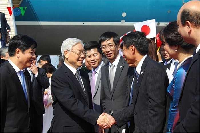 Cán bộ, nhân viên Đại sứ quán Việt Nam tại Nhật Bản