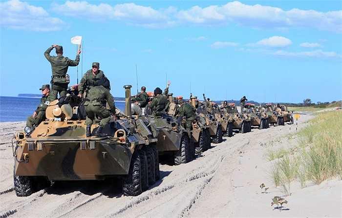 Xe bọc thép chở quân BTR-80