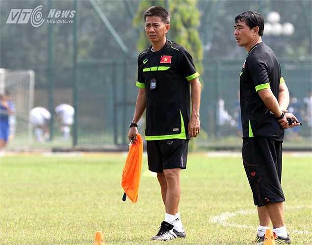 Sau khi trở về từ giải U19 Đông Nam Á, HLV Hoàng Anh Tuấn chịu nhiều áp lực và phải có những thay đổi về lối chơi cho U19 Việt Nam trong thời gian tới. (Ảnh: Quang Minh)