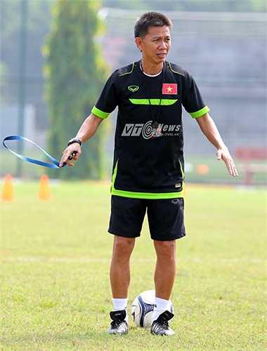 Với điều kiện hiện tại, ông Tuấn và các học trò chỉ còn biết phải nỗ lực hết mình để khắc phục. (Ảnh: Quang Minh)