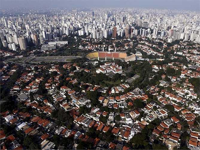 13. Brazil (Sao Paulo): Giá nhà tăng 5,06% so với cùng kỳ năm trước và vẫn đang tiếp tục tăng lên, mặc dù đất nước này đang bước vào một cuộc suy thoái.