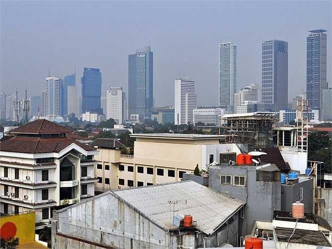 11. Indonesia: Giá bất động sản tăng thêm 5,24% so với năm trước. Tại Jakarta, thủ đô của Indonesia, giá nhà đã tăng lên gấp đôi kể từ sau khi chấm dứt cuộc khủng hoảng tài chính năm 2008.