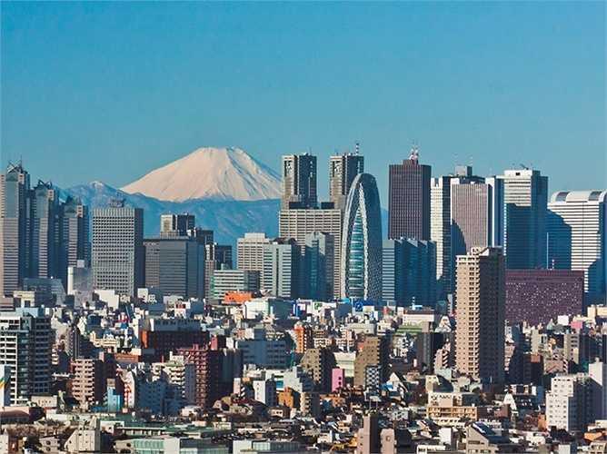 7. Nhật Bản (Tokyo): Giá nhà tăng 6,54% so với cùng kỳ năm 2014. Giá nhà ở Nhật Bản đã ngưng trệ trong hơn một thập kỷ qua, nhưng nước này vẫn đang nỗ lực để 'tái khởi sắc' cho thị trường bất động sản.