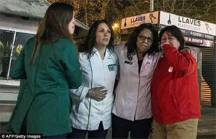 Nỗi lo sợ hiện rõ trên khuôn mặt người Chile