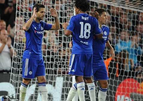 Chelsea đại thắng 4-0 trận mở màn Champions League