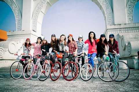 Trào lưu chơi xe đạp fixed gear đang ngày một nhân rộng trong giới trẻ