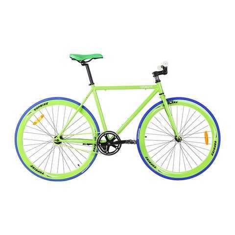 Topbike Fix – xe đạp fixed gear tối giản trong thiết kế, khung được sản xuất từ hợp kim thép Hiten cap cấp bảo hành chính hãng 10 năm.