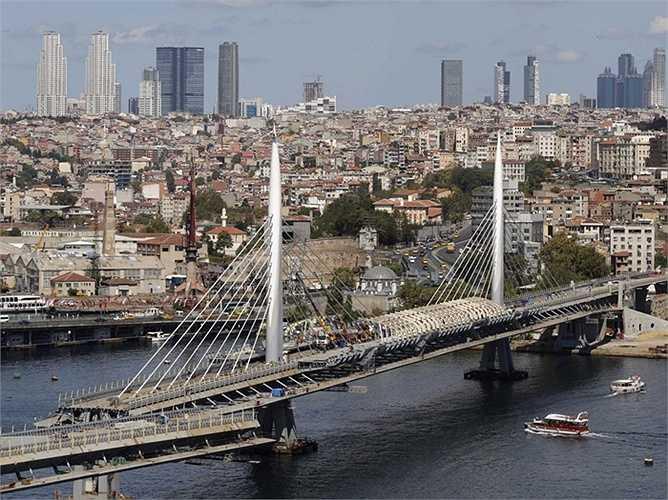 Istanbul - Vị trí địa lý trải dài từ châu Âu tới châu Á đang khiến cho Thổ Nhĩ Kỳ phát triển hưng thịnh