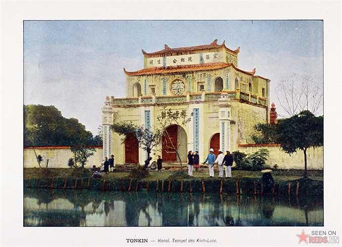 Một ngôi chùa ở Hà Nội.