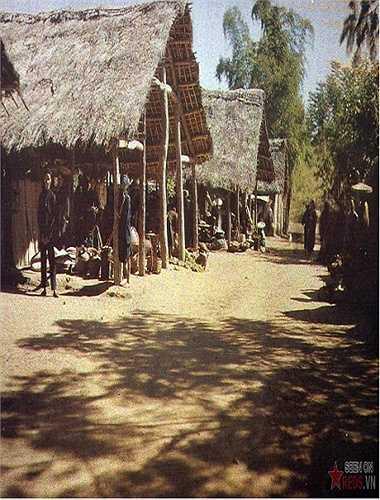 Chợ Bắc Lệ, Lạng Sơn, 1915. (B.Hương/tổng hợp)