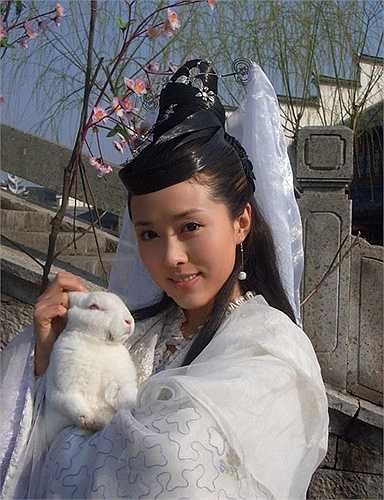 Nhan Đan Thần được coi là một trong những hình mẫu nàng Hằng Nga xinh đẹp, hiền lành và yêu kiều nhất màn ảnh Hoa ngữ.