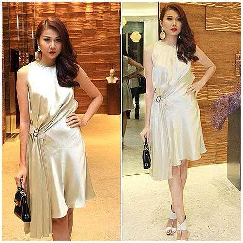 Thanh Hằng diện set đồ đẳng cấp với chiếc váy có giá bán chưa thuế là gần 70 triệu đồng.