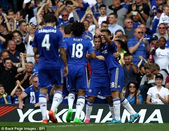 Chelsea ca khúc khải hoàn