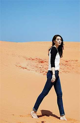 Shin Min Ah được mệnh danh là 'Mỹ nhân có đôi chân đẹp nhất xứ Hàn'