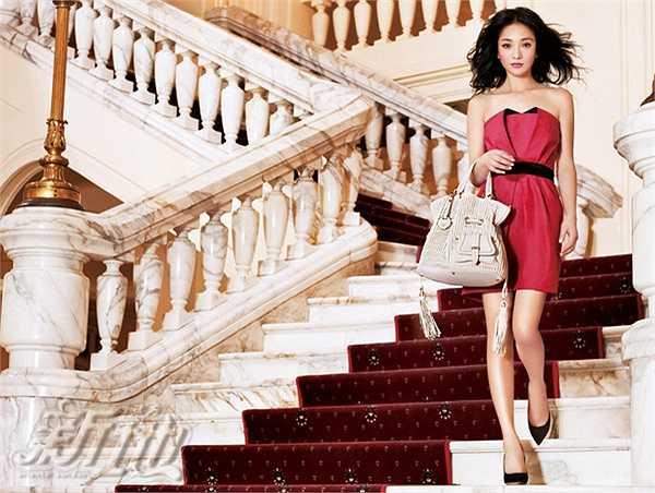 Năm 2009, Châu Tấn sang Hà Nội, Việt Nam thực hiện bộ ảnh thời trang cho một thương hiệu túi xách nổi tiếng.
