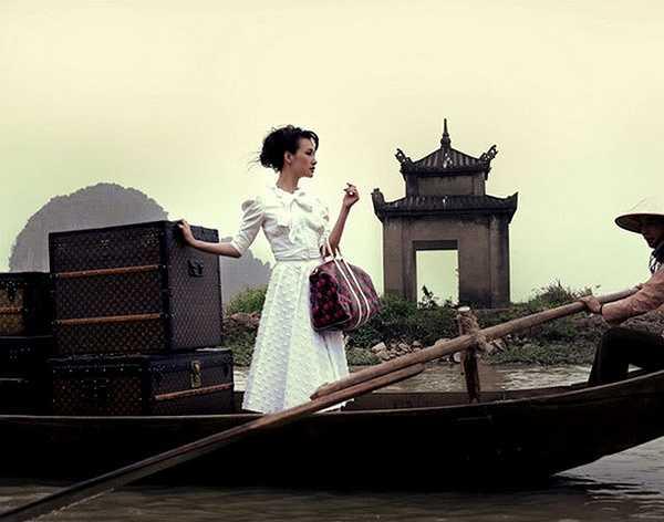 Mùa hè năm 2015, nàng 'Nikita' Maggie Q cùng hôn phu quay trở lại Việt Nam để thực hiện chiến dịch bảo vệ tê giác của các tổ chức Quốc tế.     (Nguồn: Dân Việt)