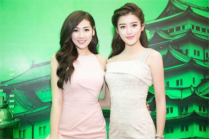 Cuối tuần qua, Huyền My và Tú Anh đã cùng đến tham dự một sự kiện được tổ chức ở TP.HCM.
