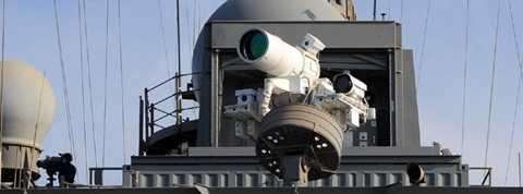Pháo laser có khả năng tiêu diệt mục tiêu trong nháy mắt