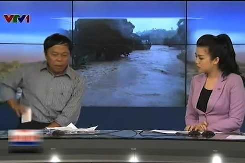 """PV Sỹ Khỏe trò chuyện về chủ đề """"Những ảnh hưởng của cơn bão số 2 tại tỉnh Lạng Sơn""""."""