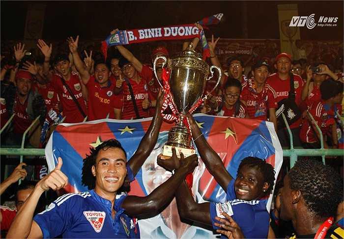 Lãnh đạo B.Bình Dương chịu chơi, chi ra cả trăm tỷ để xây dựng dàn sao đáng xem nhất V-League. (Ảnh: VSI)