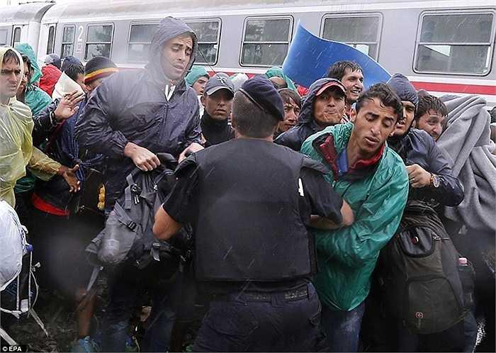 5 ngày trước, Hungary đã đóng cửa biên giới do tình trạng quá tải người tỵ nạn