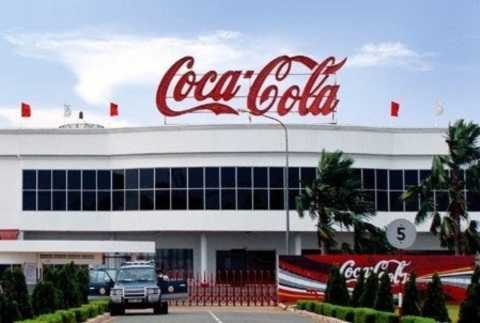 Một nhà máy của Coca Cola Việt Nam