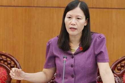 Bà Lê Thị Nga, Phó chủ nhiệm Ủy ban Tư pháp Quốc hội