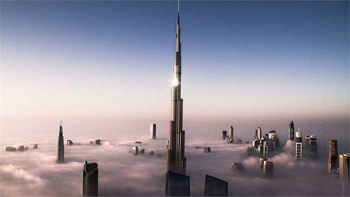 Những tòa nhà chọc trời ở Dubai