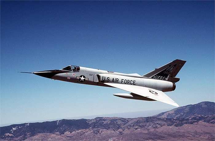 F-106 Delta Dart, tốc độ tối đa 2454 km/h