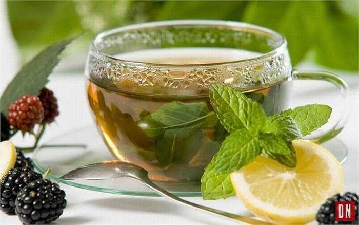 Trà bạc hà giúp chống viêm, thông mũi, có tác dụng chữa táo bón, đầy hơi và những vấn đề liên quan đến tiêu hóa. Nếu bạn đang bị sốt, trà bạc hà sẽ mang lại cho bạn sự thoải mái nhờ tác dụng làm nóng cơ thể và giúp bạn ra mồ hôi.