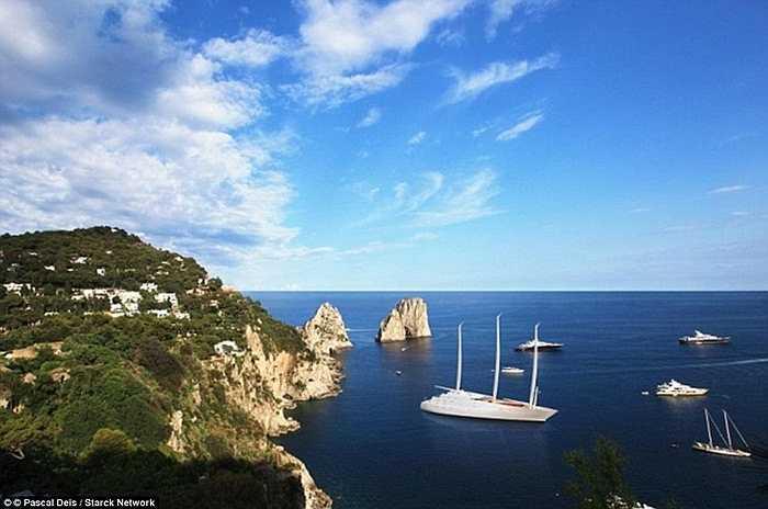 Sailing Yacht A được cho là đã vượt mặt tất cả các du thuyền khổng lồ khác.