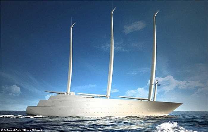 Tỷ phú Andrey sẽ phải chi trả hàng chục triệu bảng Anh mỗi năm cho việc vận hành, sử dụng con tàu.