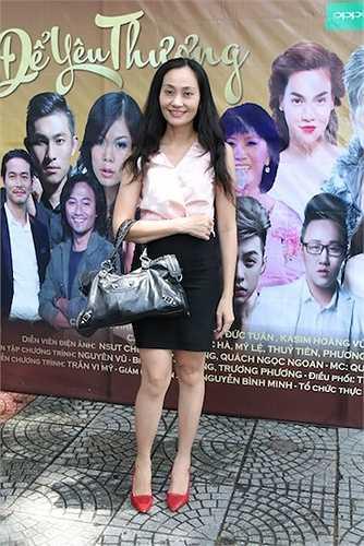 Nữ diễn viên Hạnh Thuý.