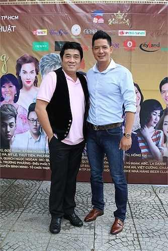Rất nhiều nghệ sỹ đã có mặt để ủng hộ cho dự án của Bình Minh với tư cách là Phó chủ tịch Hội Điện ảnh TP.HCM.
