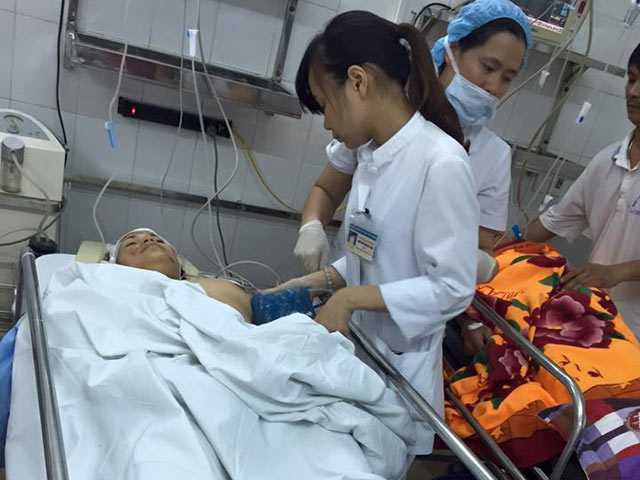 Nạn nhân nặng nhất bị vỡ xương chậu, có thể chảy máu trong ổ bụng nay đã qua cơn nguy kịch