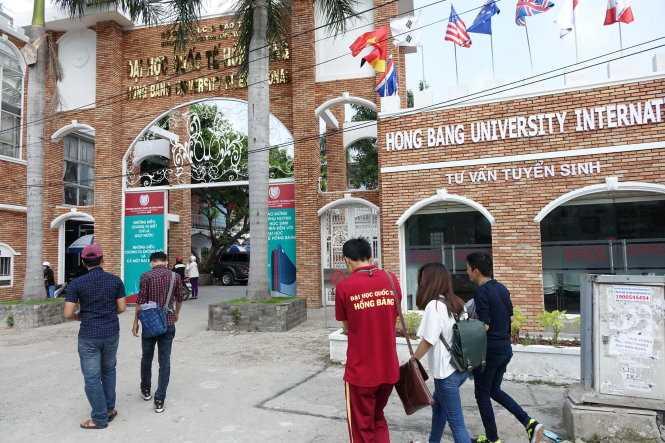 Giữa năm 2015, Trường ĐH Hồng Bàng đã được bán cho chủ đầu tư mới - Ảnh: Như Hùng