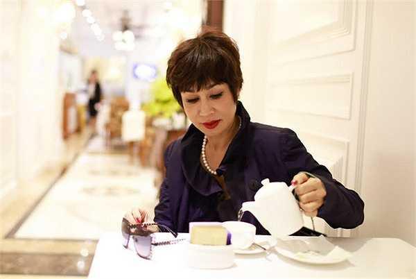 Khánh Hà cũng đã có mặt tại Hà Nội để chuẩn bị cho đêm diễn hoành tráng này