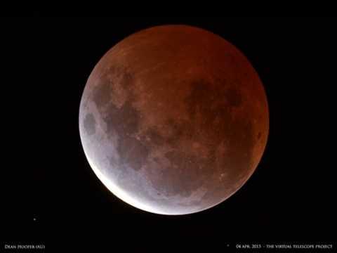 Nguyệt thực siêu trăng sẽ xuất hiện vào đúng dịp Trung thu năm 2015
