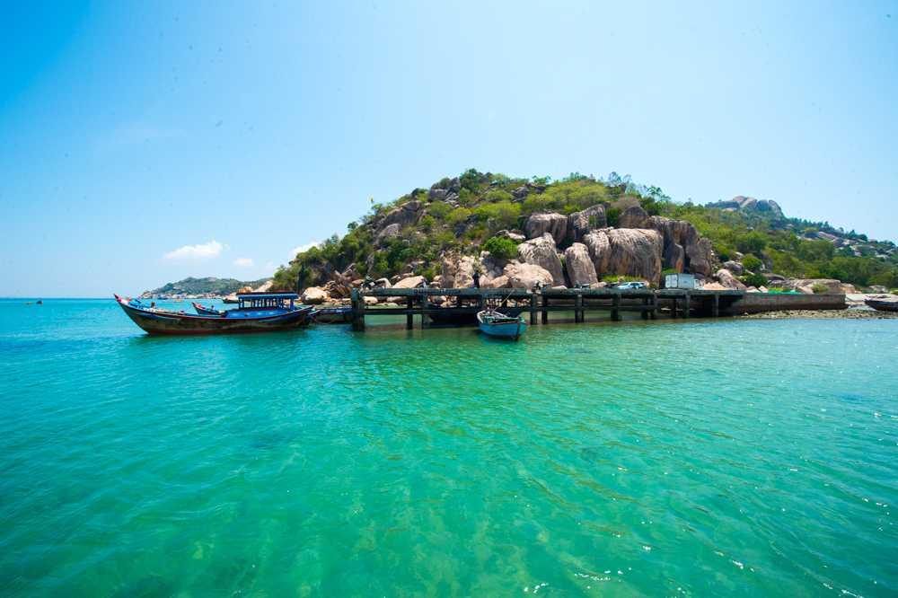 Khung cảnh đảo Robinson không khác gì một Maldives của Việt Nam