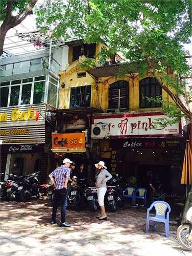 Biệt thự thành quán cafe
