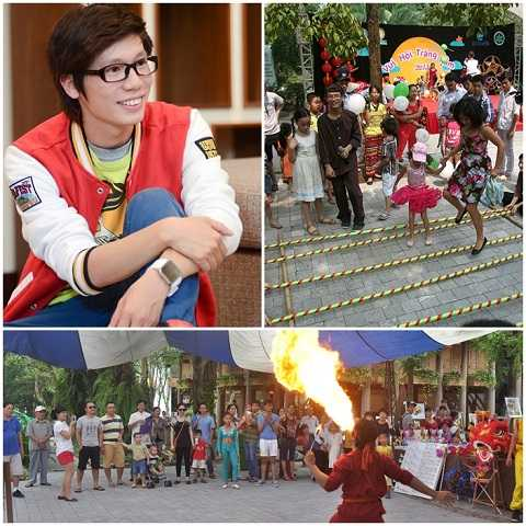 Rất nhiều các chương trình vui chơi, biểu diễn nghệ thuật hấp dẫn tại Ecopark trong ngày 26/9