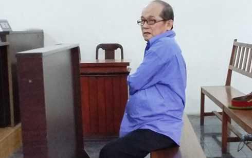 Bị cáo Huỳnh Ngọc Sương tại phiên tòa sơ thẩm (Ảnh: Người Lao Động)