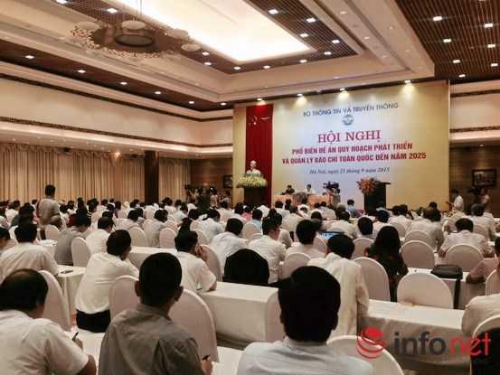 Hội nghị thu hút sự tham gia của đông đảo đại diện cơ quan chủ quản báo chí ở Trung ương và địa phương.