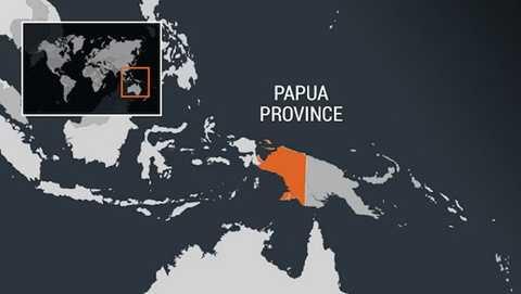 Khu vực xảy ra động đất - Ảnh: rappler.com