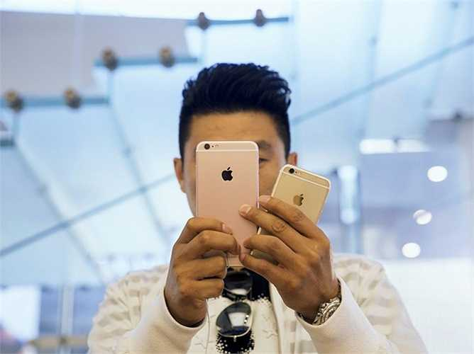 iPhone màu vàng hồng là xu hướng mới năm nay