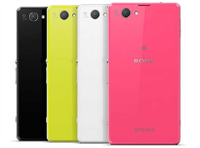 Sony Xperia Z1 Compact. Có thể nói với phiên bản màu hồng, Sony Xperia Z1C trông như một nàng công chúa thực sự với một bộ cánh lộng lẫy