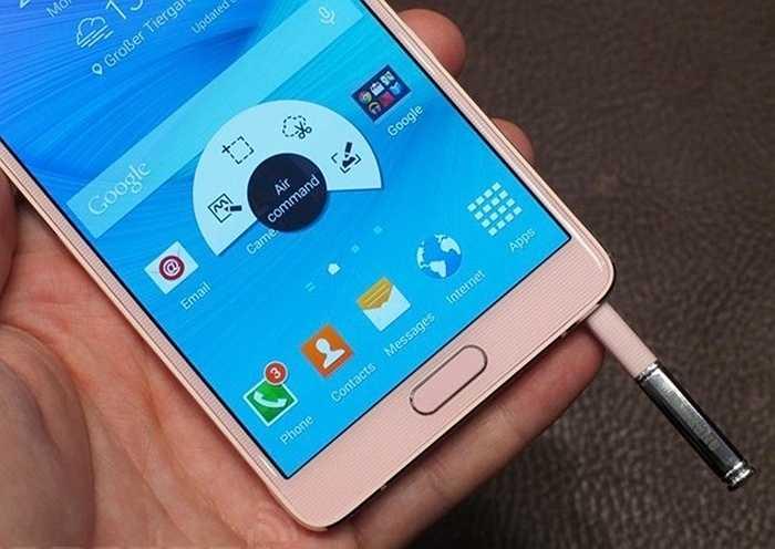 Đây cũng là dòng điện thoại có cấu hình tương đối mạnh của Samsung.